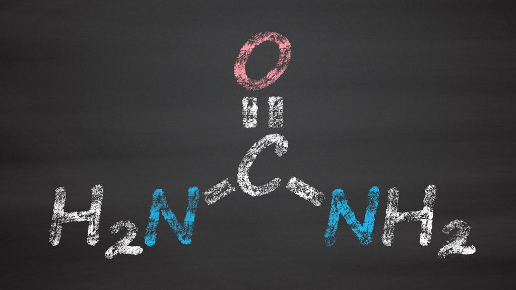 карбамид - химическая формула
